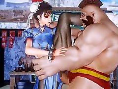 Taistelu Girl Chun Li