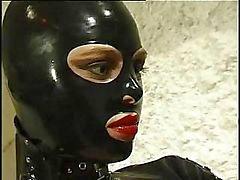 De la mujer gato de caliente mono de cuero no lo que quiera que a su esclava cachonda