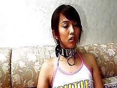 Menina tailandesa fodido aproximadamente por um homem sueco