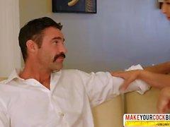 Hesitant MILF Abella Hazard Needs Hot Sex