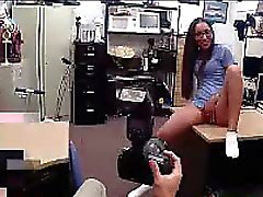Hot Nurse Makes A Deal at Pawn Shop