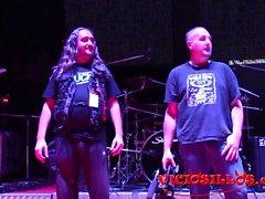 Nerea Falco y Gabriela Flores fucking machine en el SEM 2016