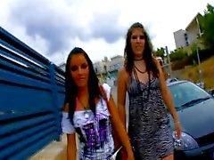 Allya & Jordane Kelly deelt een Spaanse lul