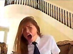 Tori Black gets punished by friend's dad
