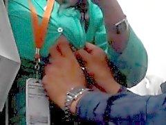 Office de Jeune fille de Mansi Sexe dans chef carlingue le 26