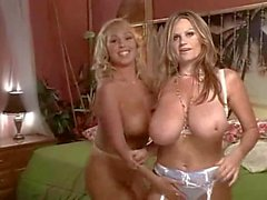 Kelly Madison and Mary Carey topless talk