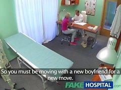 FakeHospital slank tjej vill ha sex med doktorn