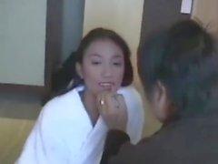 Thailand Feber # 18 Bakom Scener av Facial Cumshot