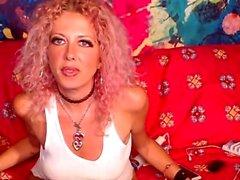 Morena MILF duro masturbación webcam