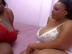 Dicke Frauen ebony in der Liebe Aktion