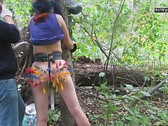 minun orja X rangaistiin metsissä