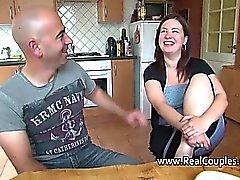 Eden von 1fuckdatecom - Ehemann anally fucking chubby Frau