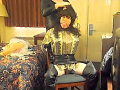 Stephanie Lorain garroted and bound 1
