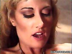 Busty Blonde Deep Cock Rammed