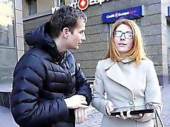 Porca Италиана Гейл gefickt