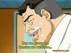 Redhead anime doktorun sıcak alay karma eğitim