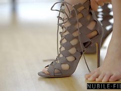 NubileFilms - Cazzo caldo con Beautiful Blonde