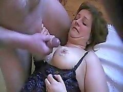 Älterer dänisch pummelig lady banged