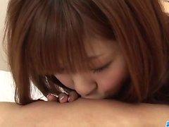 Сливочный порно шоу с небольшой сиськи Котон Айзаки
