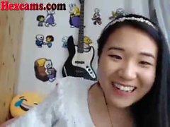 Hot Asian Webcam Teen Jogando