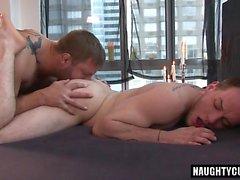 Big dick gay anal sex and massage