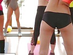 FitnessRooms Barbara Bieber Gym Class sonra cinsel egzersiz vardır