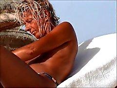 incrível praia Tunísia esposa tVerifique em topless