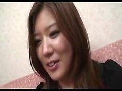 Hurmaava Japanin tyttö sukkia on valmis syötettäväksi S