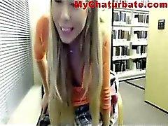 Library Butt Webcam mädchen 1