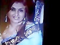 Окончание Tribute To Индии Tamil Актриса Сона индийского Desi Индийская Cumshots Арабские