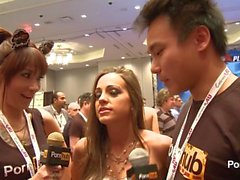PornhubTV Abigail Mac Interview at 2014 AVN Awards