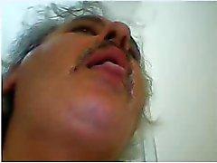 calor esperma papá turco por la cámara de