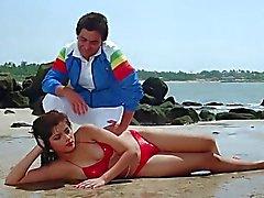 SONAM BIKINÍ QUE ESCENA DEL RARAMENTE Movie- de Vijay (1988 )