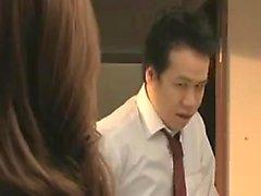 Ihastuttava japanilaiset tyttöä harjoittaa kuuma lesbo romanssi o