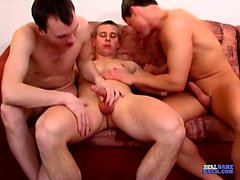 Marek, Petr and Jan all love getting fucked in the ass