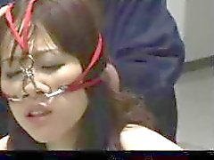 Japanese Office Lady Rough Bondage
