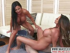 Ill Step Mom Ariella Ferrera And Jewels Jade In Threesome