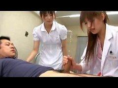 Enfermeira pornô japonês.