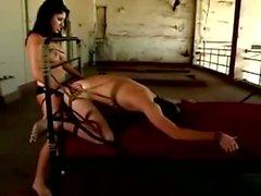 Sativa rose peggs her slave as his punishment