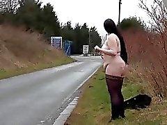 Mollige Laien öffentliche Nacktheit und die Dicke Frauen Emma