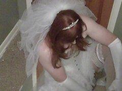 Кросс-стрит невесты с вибратором