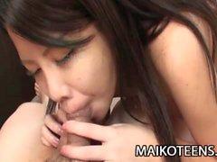 Manami Sasaki JAV Teen Cum Filled Ficken