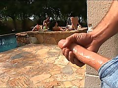 PornPros Orgias Pool Party