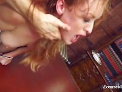 Glamorous babe rough sex at its finest