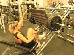 Evet!!! Fitness sıcak ASS sıcak CAMELTOE 72
