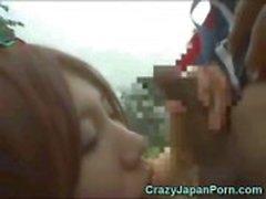 Japon Kız Papua Sucks