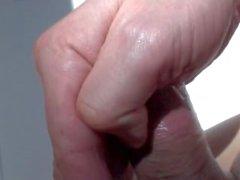 erotiskt penis massage närbild