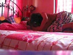 Chica de colegio bangladeshí follada por su Bf-cam