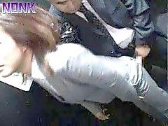 Нетрезвом Деловая женщина Более Был ли легкой добычей для Лифт Маньяка