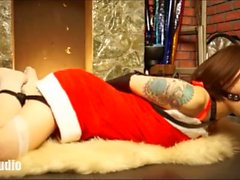 Bondage Christmas Special Cute Asian